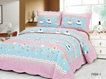 Bed cover cotton AZY 110cmx130cm 130cmx150cm 150cmx200cm 150cmx200 one bed cover two pillowcases Plants and flowers Light purple dark purple violet violet purple coffee chocolate light brown Dark Khaki Brown Camel Superior products