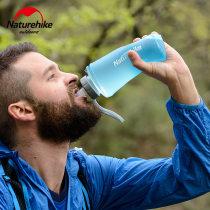 Plastic water bag TPU 0.5L Может содержать кипящую воду Узкий рот на открытом воздухе 48.2g / 50.4g Green cover white 500ml green cover white 750ml gray cover blue 500ml gray cover blue 750ml new blue set (280ml) new blue set (420ml) NaturhiKe