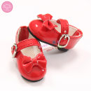 BJD doll zone shoes 1/6 Over 14 years old goods in stock Wx6-32 red wx6-32 black 6-point shoes Oueneifs
