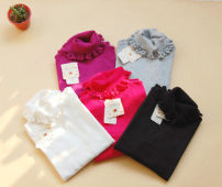 sweater Autumn 2015 Average size White Black Pink Purple grey rose red rice white apricot other 81% (inclusive) - 90% (inclusive)