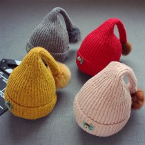 Hat Average size Pink turmeric light coffee red grey 5 months - 2 years old elastic neutral Plush hat cone Shopping Other / other No eaves other
