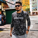T-shirt Fashion City T17471c snow black routine 6XL GxxH T17471c Cotton 95% polyurethane elastic fiber (spandex) 5% Cotton wool Fall 2017 Pure e-commerce (online only)