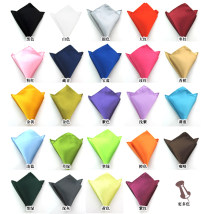 Handkerchief Dark green lake blue champagne orange Silver Emerald Green Gold Coffee dark gray light blue navy white pink light purple purple red grass green yellow royal blue purple rose red jujube red golden yellow black KDJ888