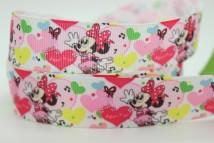 Ribbon / ribbon / cloth ribbon 50y picture color (high quality) 100y picture color (high quality) pretty P488