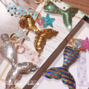Key buckle customized Silver fishtail gold fishtail green fishtail color fishtail other like a breath of fresh air