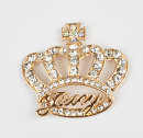 Other DIY accessories Other accessories Alloy / silver / gold RMB 1.00-9.99 371] gold single crown 361] silver single crown brand new Fresh out of the oven Other / other My type, my creation