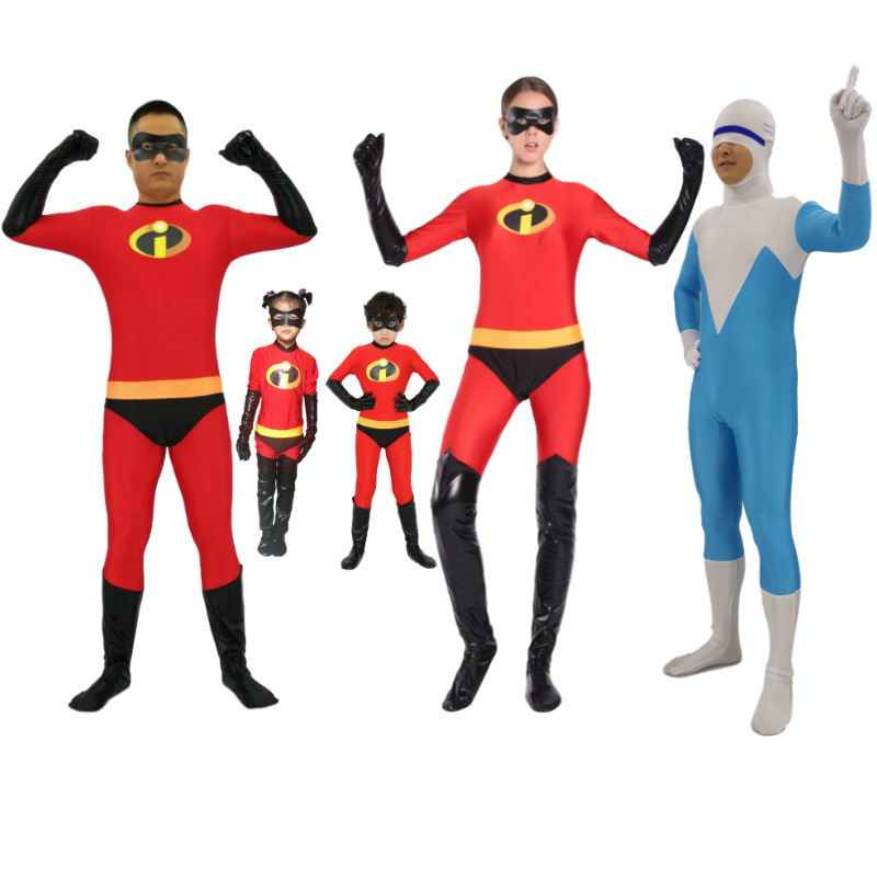 National costume / stage costume Fall 2017 Daughter boy child male adult female adult cool ice man adult cool ice man child S M L XL XXL spandex 96% and above