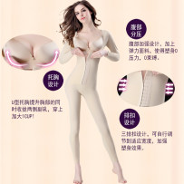 Body shaping suit Four seasons Beautiful and elegant Breasted Short Sleeve Black breasted short sleeve skin color breasted Long Sleeve Black breasted long sleeve skin color routine The abdomen