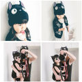 Hat Average size Naughty black cat black bear three dimensional dog Over 54cm-54cm head circumference for mom Other / other