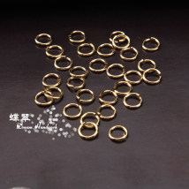 Other DIY accessories Other Accessories Alloy / Silver / Gold 1.00-9.99 yuan 5mm 1g is about 21 pieces 3mm 1g is about 49 pieces 4mm 1g is about 36 pieces brand new Strange DIY