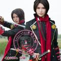 Cosplay men's wear suit Customized SakuraCos Over 14 years old Female (s, l) male game L m s XL tailored Japan Sword dance Sword dance Qingguang, California