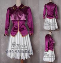 Cosplay women's wear юбка изготовленный на заказ 14 лет и старше анимация Портняжничанная Грибной бог Серия FATE Yi Liya
