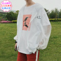 Jacket Other / other Youth fashion Pink white gray black sky blue M L XL routine easy Travel? Four seasons Polyester 100% Long sleeves Wear out Hood tide teenagers routine Zipper placket 2018 No iron treatment Closing sleeve other
