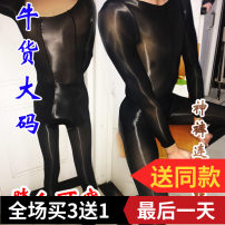 Socks / base socks / silk socks / leg socks lovers aove Open crotch (panties) one line crotch (no crotch panties) open crotch (nine points) no open file (nine points) Light grey black brown complexion 1 pair ultrathin Panties Four seasons Solid color Liangsi / yincong / Zhuguang