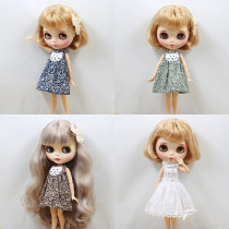 Doll / accessories parts Over 14 years old De Bi Sheng China Suitable for small cloth and other dolls Green skirt green skirt + hairpin dark blue skirt dark blue skirt + hairpin chocolate skirt chocolate skirt + hairpin White Sleeveless skirt Over 14 years old Blythe baby clothes parts cloth other