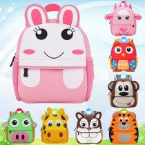 a bag Squirrel goat pig chicken owl tiger monkey giraffe dog rabbit Tong Chang Kindergarten schoolbag 12 months, 2 years, 3 years, 4 years, 5 years, 6 years NT2015107