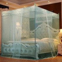 Mosquito net 1.2 * 2M кровать 1,5 м (5 футов) кровать 1,8 м (6 футов) кровать 2,0 м (6,6 футов) кровать Дворцовые сети 3 двери Лиза край общий