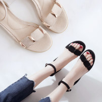 Sandals three thousand three hundred and thirty-four trillion and three hundred and fifty-three billion six hundred and thirty-seven million three hundred and eighty-three thousand nine hundred and forty Apricot pink B pink B apricot b black Anyezu / Android Cashmere (cashmere) Barefoot Flat bottom