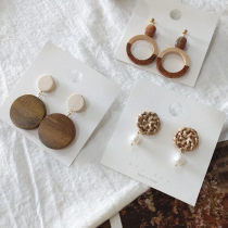 Ear Studs other 40-49.99 yuan Other / other A, B, C brand new Japan and South Korea female Fresh out of the oven Not inlaid