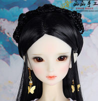 BJD doll zone Wigs 1/3 Over 14 years old Customized Wigs 1 / 3 head circumference 22-23.5 1 / 4 head circumference 18 1 / 3 small head 20.5-21 spot 1 / 3 head circumference 22-23.5