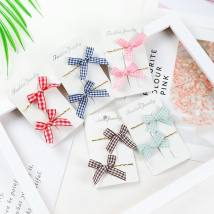 Hair accessories Side clip RMB 1.00-9.99 Other / other Red black Navy Brown Pink brand new Original design Fresh out of the oven Alloy / silver / gold Not inlaid C79