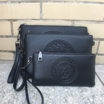 Men's bag clutch bag PU Mini dragon Head large head small head mobile phone bag six card head video six card head small head with strap small head with strap brand new leisure time Street trend zipper soft Small yes Zipper hidden bag mobile phone bag certificate bag sandwich zipper bag character Yes