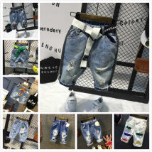 trousers Other / other male 90cm (7 yards) 100cm (9 yards) 110cm (11 yards) 120cm (13 yards) 130cm (15 yards) summer Pant Korean version No model Jeans
