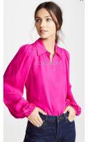 shirt 0 2 4 6 8 10 Red, no refund, no change. silk 96% and above