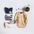 Jumpsuit / climbing suit / Khaki Other / other Class A neutral 73cm 80cm 90cm 100cm Pure cotton (100% content) spring and autumn Long sleeves nothing