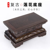 Wood carving other Redwood Dongyang wood carving relief Retro nostalgia The trees are abundant fxdz32