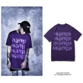 T-shirt Youth fashion violet routine S M L NINJA FRESH Short sleeve Crew neck standard daily summer youth routine tide 2016 Cotton polyester