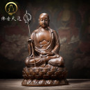 Ornaments brass character Classical in Ming and Qing Dynasties Tabletop ornaments a living room The fragrance of Buddha 21109H