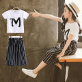 suit Quxiong / funny bear white female summer Korean version Short sleeve + pants 2 pieces Thin money There are models in the real shooting Socket