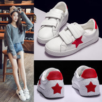 Low top shoes three hundred and fifty-three billion six hundred and thirty-seven million three hundred and eighty-three thousand nine hundred and forty Snow Cat 916 white red 916 white black 916 black Round head Flat bottom PU Midmouth Low heel (1-3cm) PU Fall 2017 Velcro Korean version skate shoes