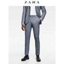 Western-style trousers ZARA Business gentleman Purplish red 38 (190/96A) 01564421060-24 Polyester 49% viscose (viscose) 48% polyurethane elastic (spandex) 3% Summer of 2018 Same model in shopping mall (sold online and offline)