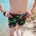 Men's swimsuit Other / other Red yellow letter pink orange green coconut blue background pattern five pointed star gray square red coconut Blue Tiger ocean Navy flame blue coconut yellow blue stripe orange yellow pirate blue precious blue small lattice black flame black light blue boxer