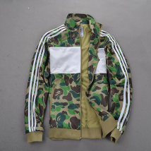 Sweater Army green camouflage dark blue camouflage S M L XL 2XL Youth epidemic Other /other other Cardigan