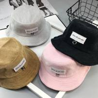 Hat Average size Khaki Grey Black Pink 2-6 years old neutral Fisherman hat dome leisure time Other / other Wide eaves other