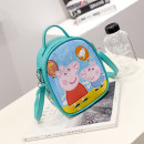 Backpack PU Other / other Pink one day blue two red three lake blue five red small four brand new Small zipper leisure time Single root Cartoon soft child no Soft handle Cartoon animation nothing Water splashing prevention other polyester fiber Color contrast no printing