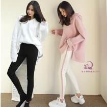 Casual suit S M L Зима 2017 В белых брюках, в коричневых брюках, с пушечным одеялом, в белом халате, в белом халате, в белом платье, в розовом платье, в розовом цвете, в белом платье 96% и выше хлопок