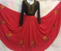 National costume / stage costume Spring 2017 Black red red black XXL bust 100-110 80-85 kg wear XXL bust 90-98 weight 70-78 kg XL bust 80-90 weight 60-68 kg l bust 76-80 size 50-58 kg m74-78 bust weight 46 kg 50 kg