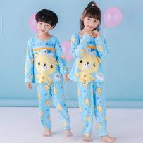Home suit Other / other 48CM (size 8: 100-110cm) 52cm (size 10: 110-120cm) 59cm (size 12: 120-130cm) 66cm (size 14: 130-140cm) 73cm (size 16: 140-150cm) 80cm (size 18: 150-155cm) spring and autumn neutral Viscose 85% cotton 15% 11-13 years old 3-5 years old 5-7 years old 7-9 years old 9-11 years old
