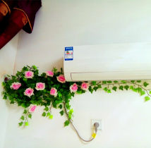 Artificial flower Wedding flower art of silk flower and rattan flowers and plants Other / other rose Others