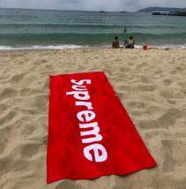 Bath towel / absorbent towel Red, green, white Free shark E10