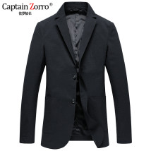 man 's suit Fashion City violet Captain Zorro thin 175/L ZL2018186627 Polyester 100% Autumn of 2018 Polyester viscose