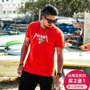 T-shirt Youth fashion T18802c red routine 6XL GxxH t18802c Cotton 95% polyurethane elastic fiber (spandex) 5% Summer of 2018 Pure e-commerce (online only)