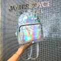 Backpack PU Other / other Silver Rose brand new Small zipper leisure time Double root Japan and South Korea soft youth yes Soft handle Solid color no