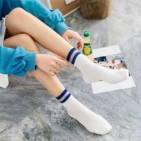 Socks / base socks / silk socks / leg socks female Other / other Average size Beige white gray black 1 pair stripe