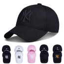 Hat cotton Men's money can be adjusted while women's money can be adjusted spring, summer, autumn, winter Baseball cap Universal street Dome letter Yes