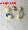 Plush cloth toys Over 14 years old 1 2 3 4 5 Below 10 cm Plush Small pendant PP cotton domestic